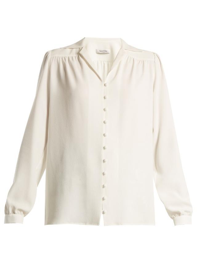 画像5: オリヴィア・パレルモによる、白シャツ×デニムスタイルをオシャレに見せる方法