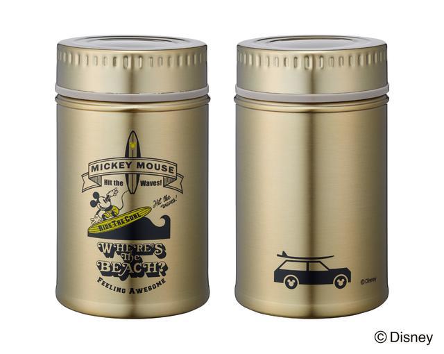 画像3: Disneyシリーズ アンティーク缶風ステンレスボトル 特長