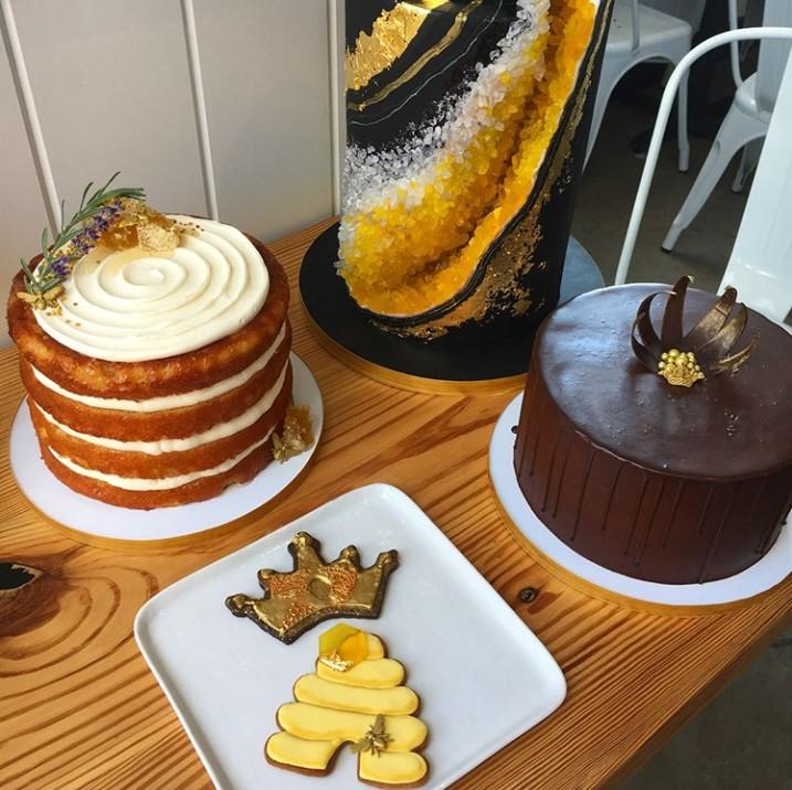 画像4: 記憶に新しいあの姿にインスパイアされたケーキ