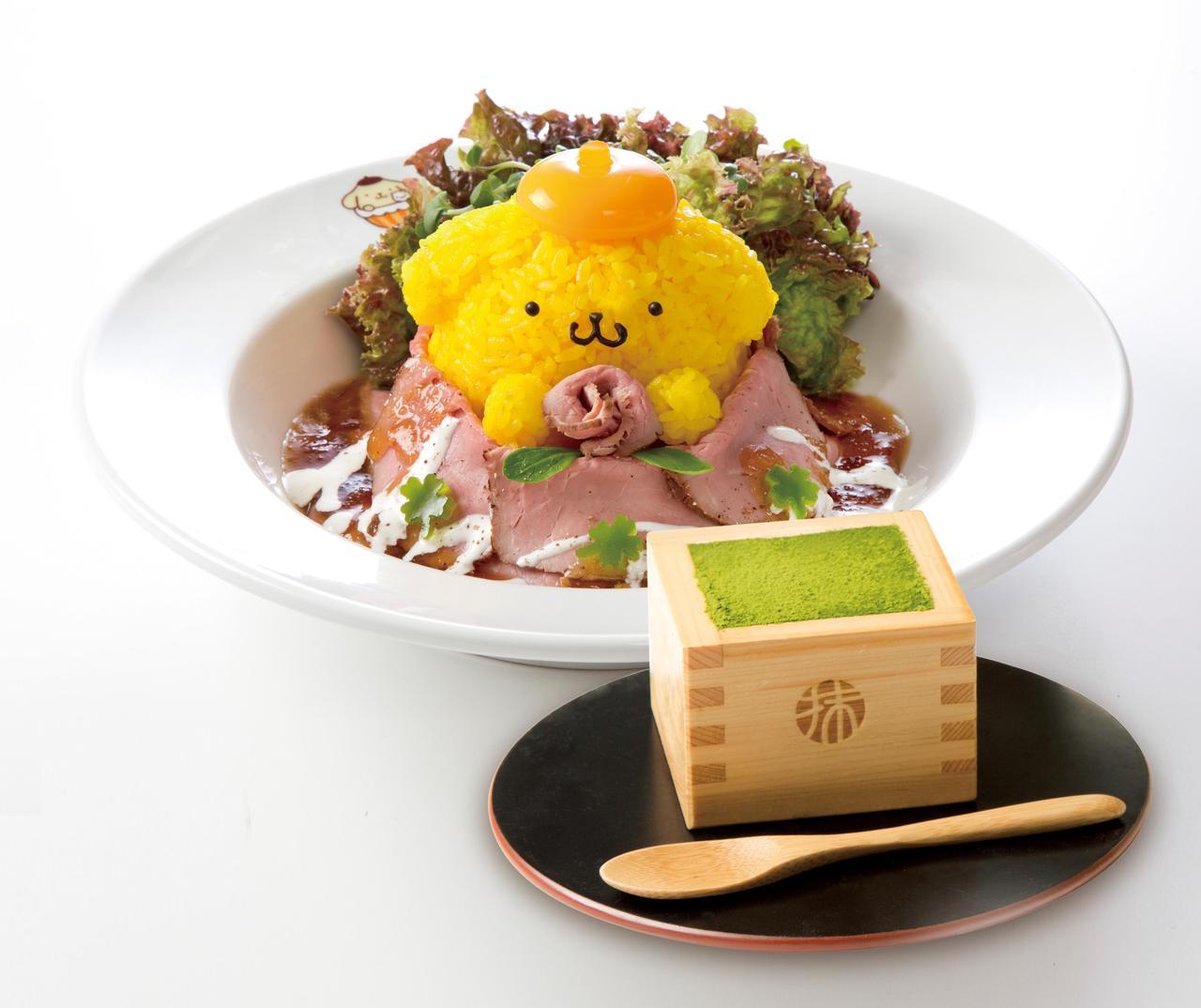 画像: ローズなミートで♪ローストビーフ丼+宇治抹茶のティラミス