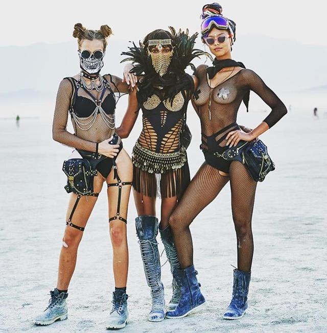 画像6: ヴィクシーモデルたちがフェスファッションで本領発揮
