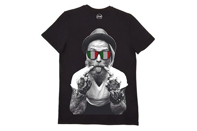 画像: SPEND / Tシャツ / ITALIAN BEARD BLACK 9,000円(税込9,720円)