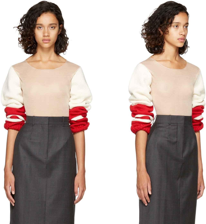 画像2: 乳首丸見え!上半身完全シースルーの23万円セーターが完売