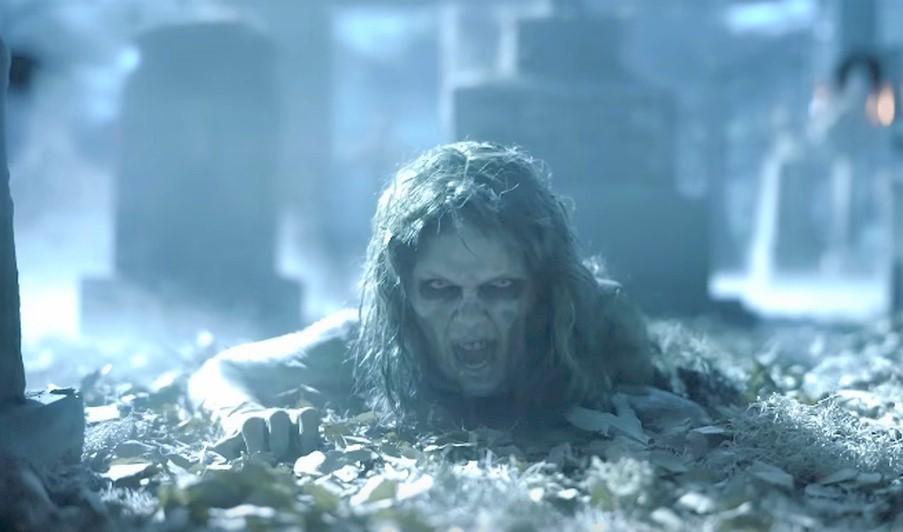 画像1: ゾンビメイクのメイキング映像が公開