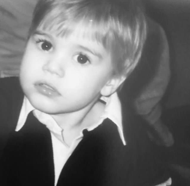 画像: ジャスティン・ビーバー、超絶可愛い幼少期の写真を公開!あのセレブも反応