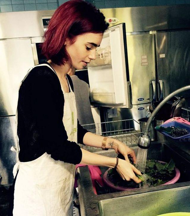 画像: 4:料理をして心を落ち着かせる