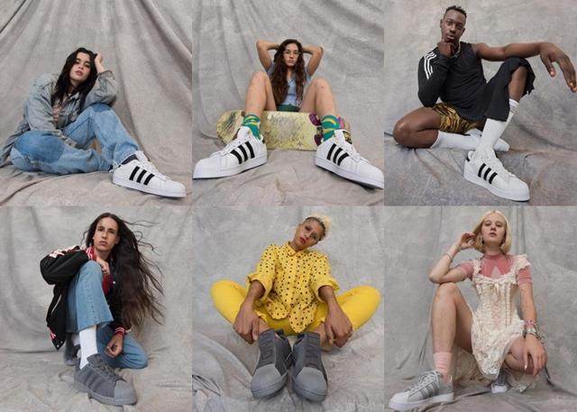 画像1: モデルを通して多様性訴える