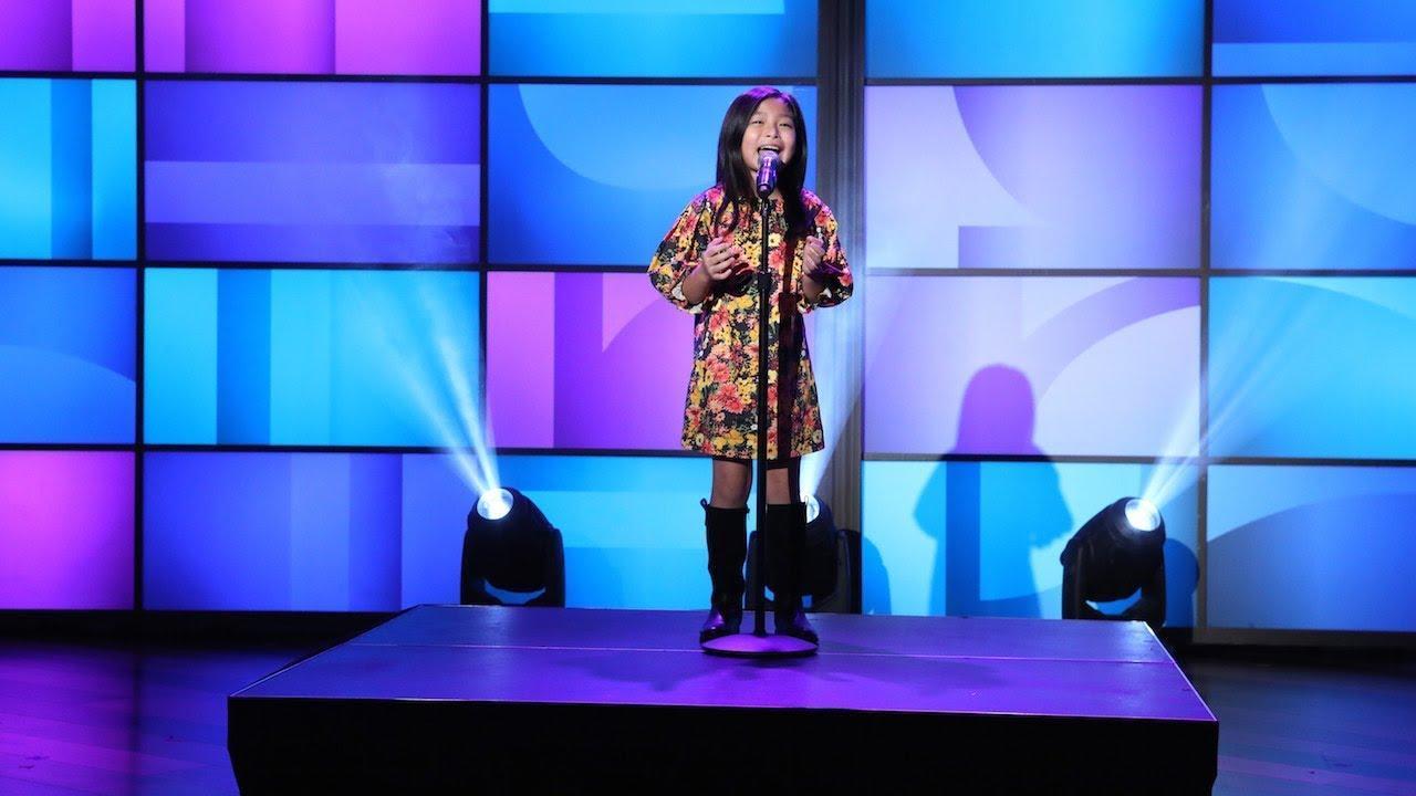 画像: Adorable 'America's Got Talent' Singer Celine Tam Performs www.youtube.com