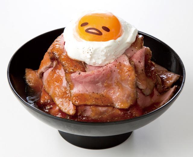 画像: マウンテン!ローストビーフ丼