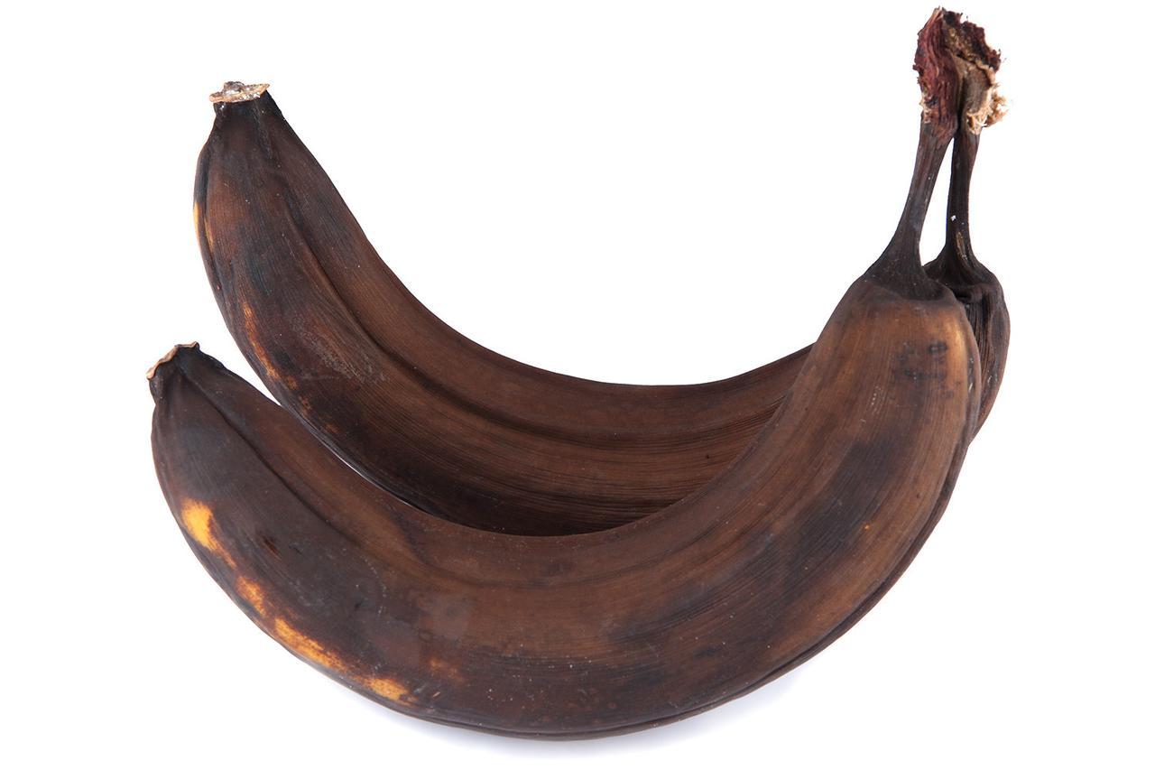 画像: 「茶色くなったバナナ」の使い道とは?