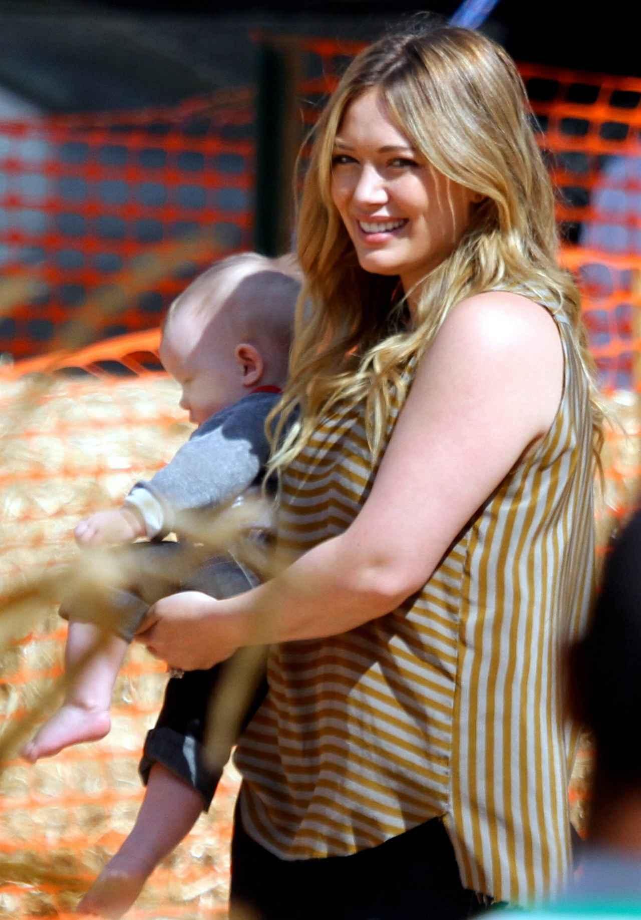 画像: 2012年 息子ルカ君を出産