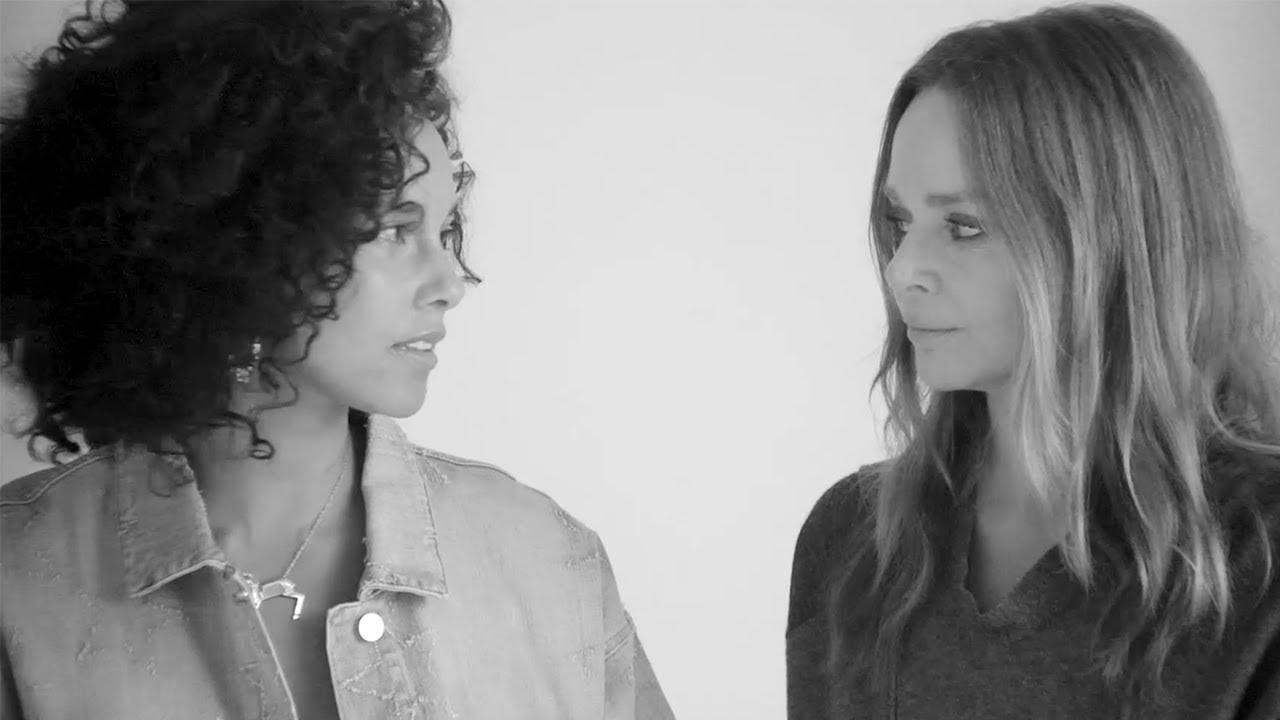 画像: Breast Cancer Awareness 2017 with Alicia Keys | Stella McCartney youtu.be