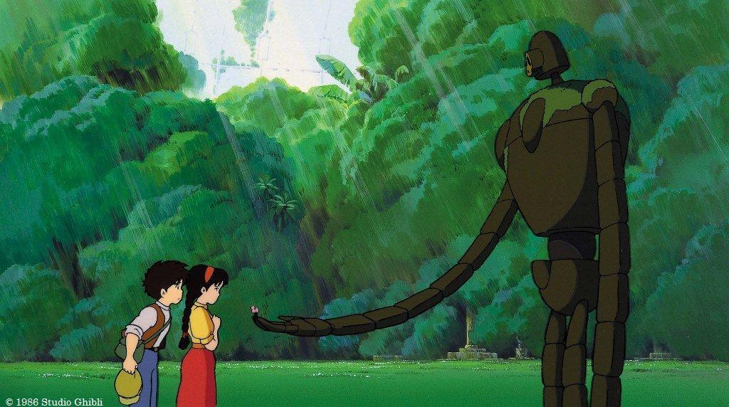 画像: ©1986 Studio Ghibli ©Twitter/kinro_ntv