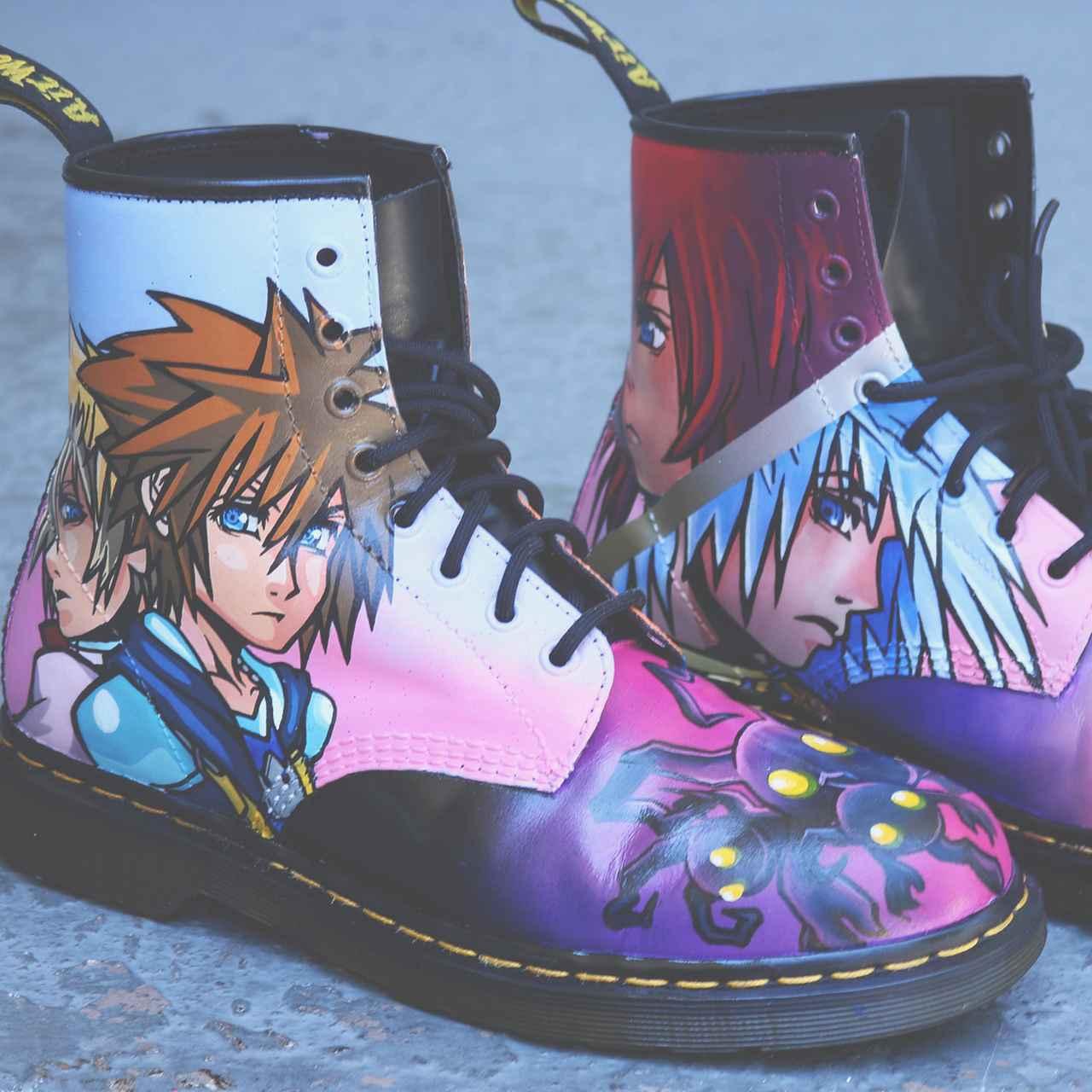 画像2: 日本発のゲームキャラがブーツに