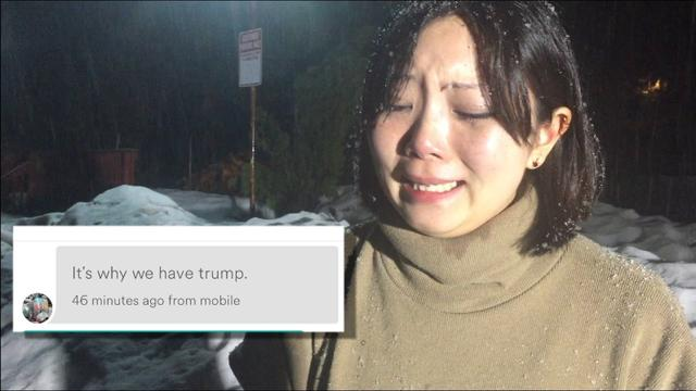 画像: Trump Supporter Cancels Asian Woman's Airbnb Stay www.youtube.com