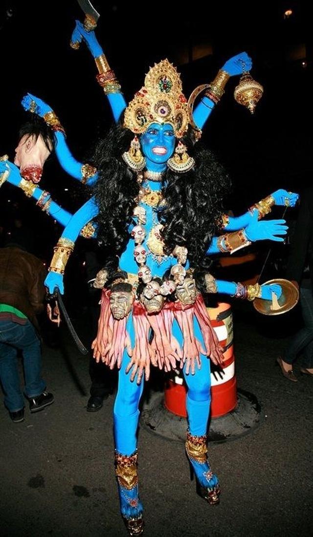 画像: 2008年:インドの女神 カーリー
