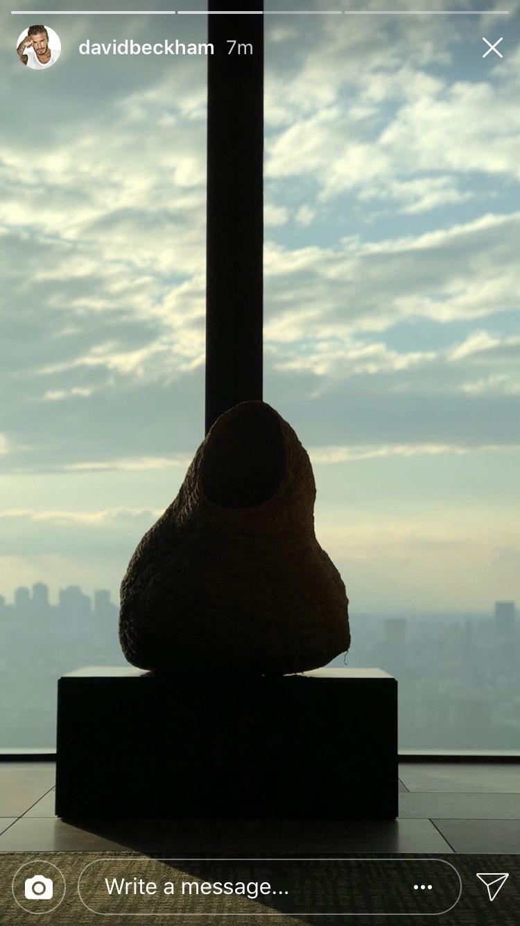 画像2: 「東京が恋しかったよ」デヴィッド・ベッカム来日中!早速日本を堪能
