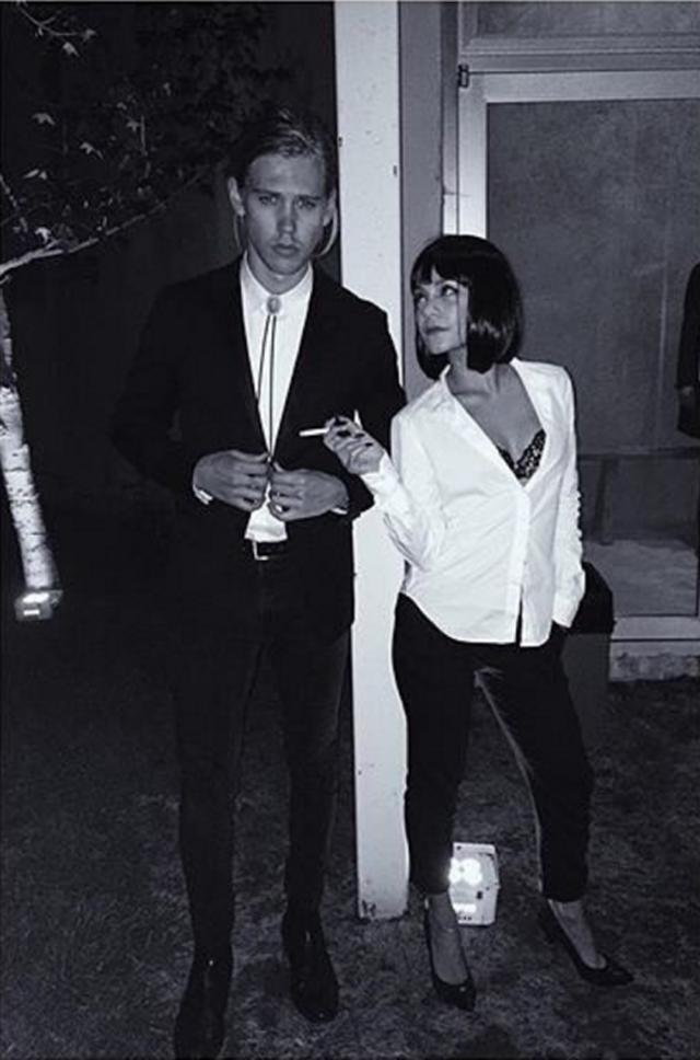 画像: 女優ヴァネッサ・ハジェンズと俳優オースティン・バトラー