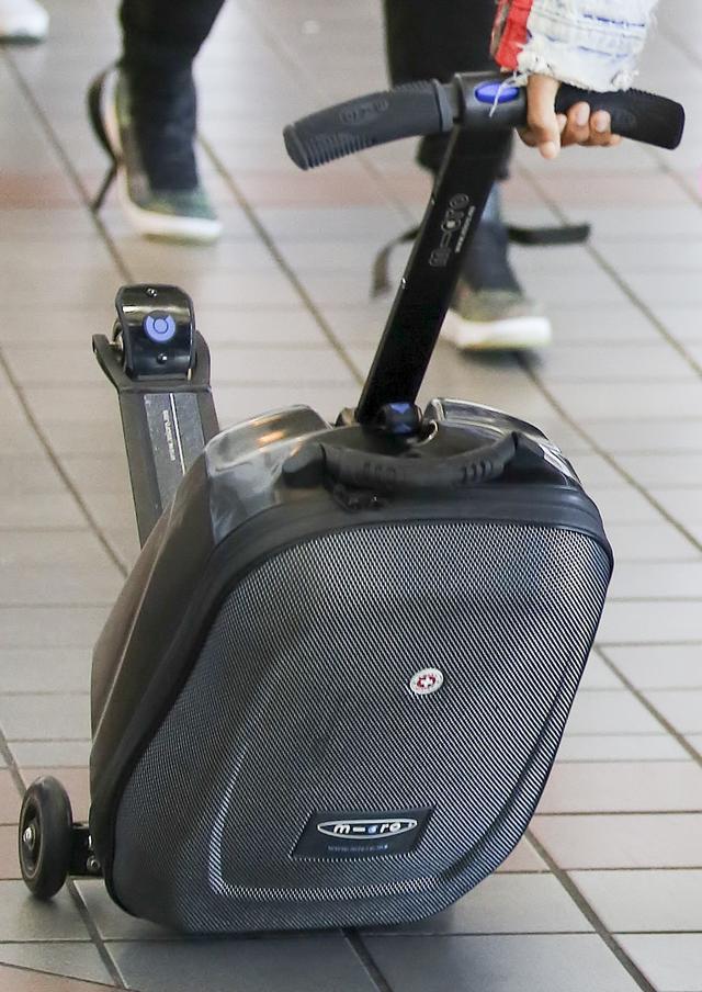 画像5: キックボード付スーツケース