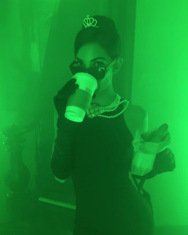 画像: ヴィクシー・モデルのリリー・オルドリッジ