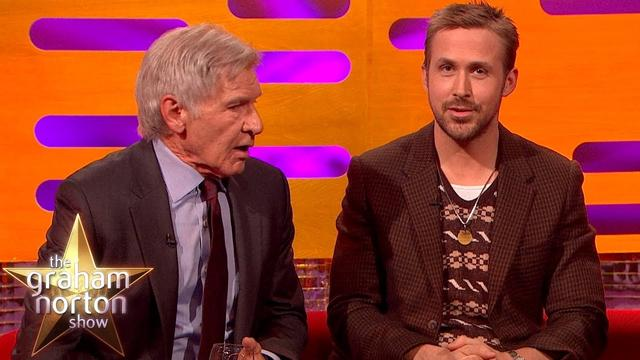 画像: Harrison Ford Really Can't Remember Ryan Gosling's Name | The Graham Norton Show www.youtube.com