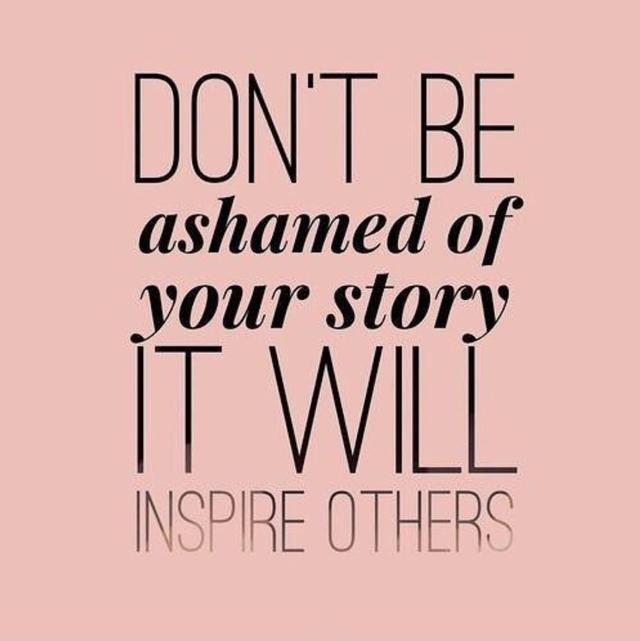 画像: カーラがシェアした「あなたのストーリーを恥じないで。きっと誰かをインスパイアするはず」という格言。©Cara Delevingne/ Instagram