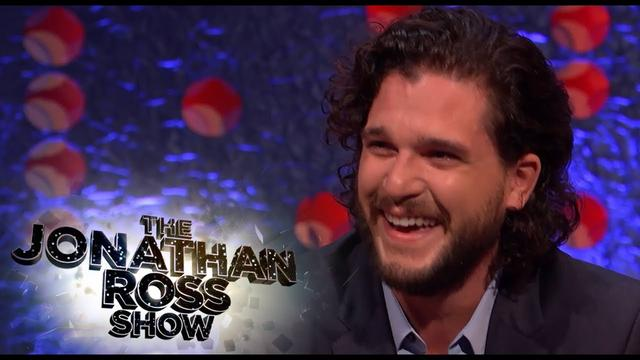 画像: Kit Harington's Epic April Fools Day Prank On Rose Leslie - The Jonathan Ross Show www.youtube.com