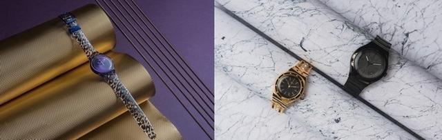 画像1: スウォッチより、洗練された秋冬コレクションの新作時計