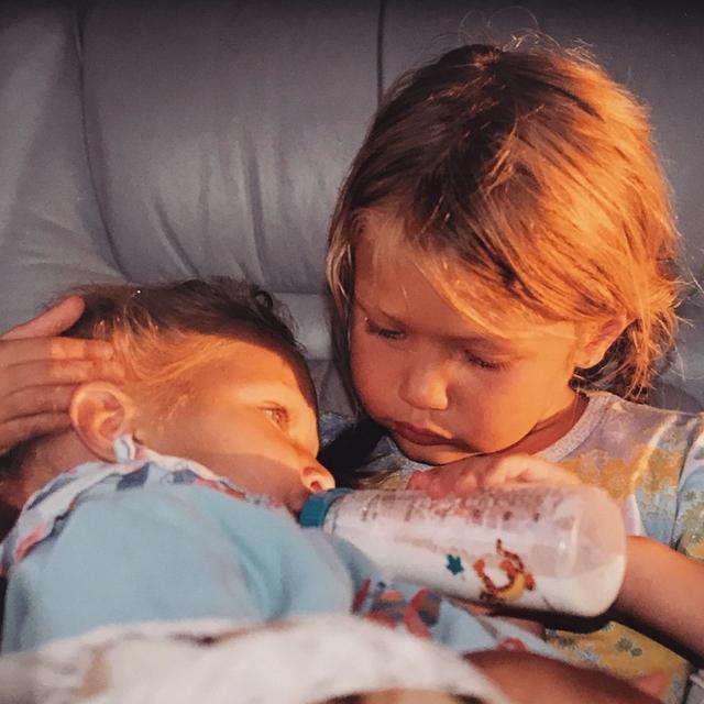 画像3: 仲良し人気モデル姉妹が公開した絵日記