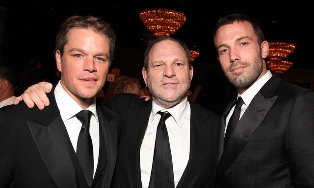画像: 人気俳優のマット・デイモン(左)&ベン・アフレック(右)と。