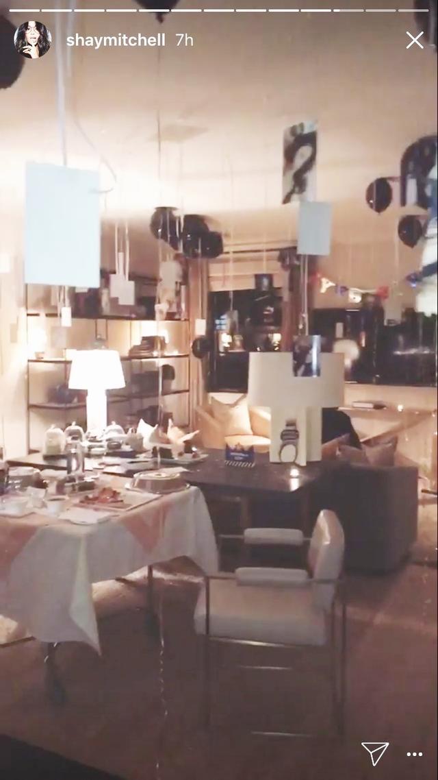 画像3: 『PLL』シェイ・ミッチェル、彼氏の誕生日サプライズがロマンチックすぎる