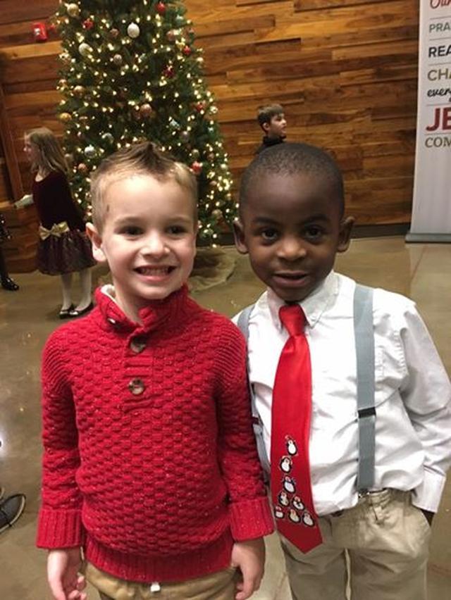 画像: 左がジャックス君で右がレディ君。 ©Facebook/Lydia Stith Rosebush