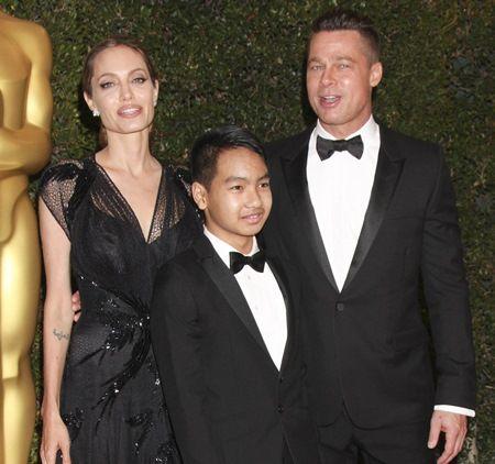 画像: カンボジアから養子に迎え入れられたマドックス君は現在15歳。兄弟の中で最も母思いとして知られる。