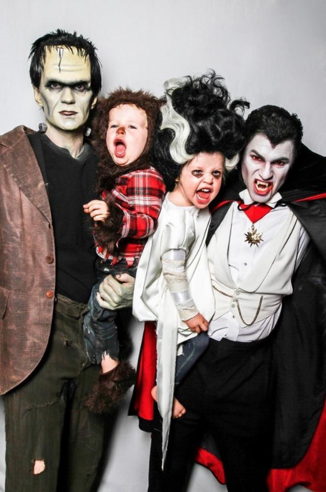 画像6: ハロウィン仮装が大人気のセレブファミリー