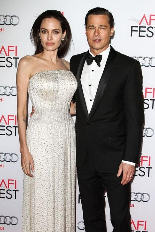画像: 夫婦として最後のレッドカーペット姿。2015年11月、『白い帽子の女』のプレミアに出席した。