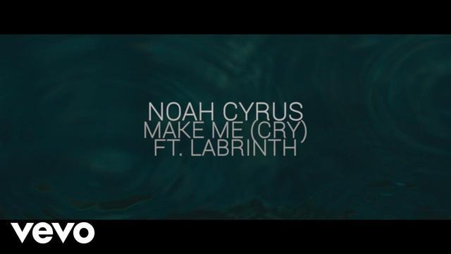 画像: Noah Cyrus - Make Me (Cry) (Official Lyric Video) ft. Labrinth youtu.be