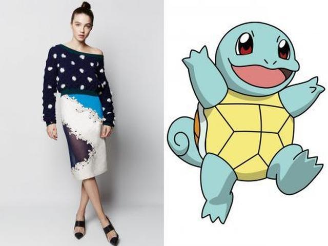 画像5: まさかこんなにオシャレに!有名デザイナーがポケモンに着想を得た服を作るとこうなる