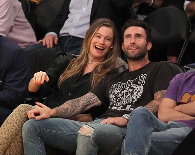 画像: 今年の4月にLAでバスケットボールを観戦していた2人。