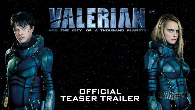 画像: Valerian and the City of a Thousand Planets Official Teaser Trailer youtu.be