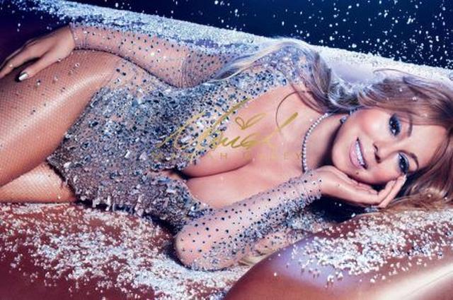 画像: M.A.C Cosmetics x Mariah Careyのキャンペーン写真。