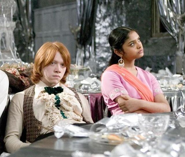 画像: パドマ・パティル役(右)は映画『ハリー・ポッターと炎のゴブレット』に登場した。
