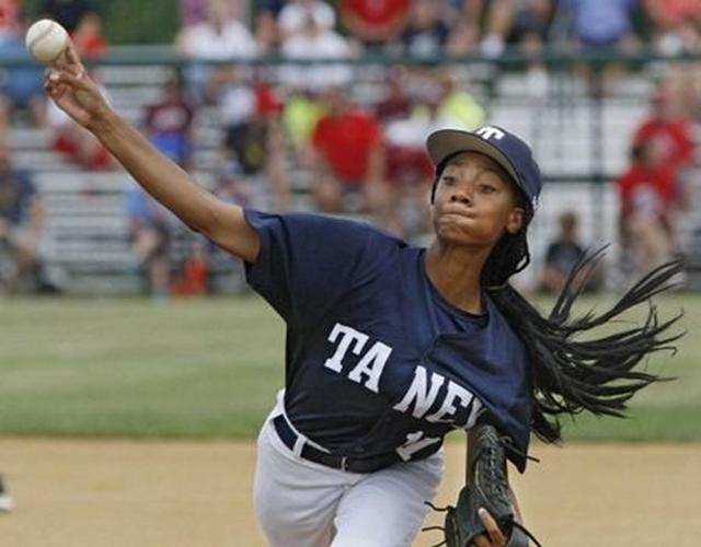 画像: 女性初の「リトルリーグ・ワールドシリーズの勝利投手」