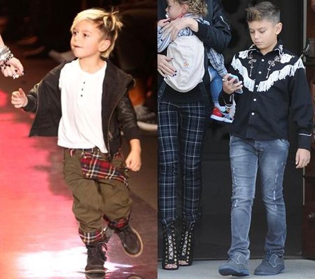 画像: 幼い頃(左)はおしゃれキッズとして有名だったが、そこも今でも(右)変わらず。