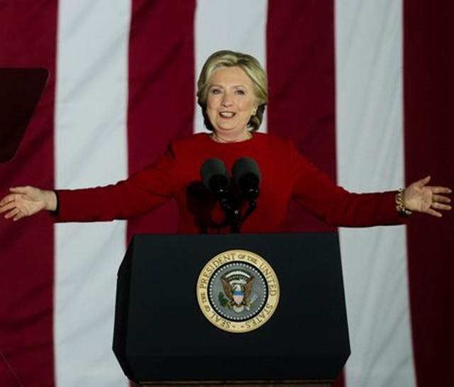画像: 女性初の「アメリカ合衆国大統領候補」