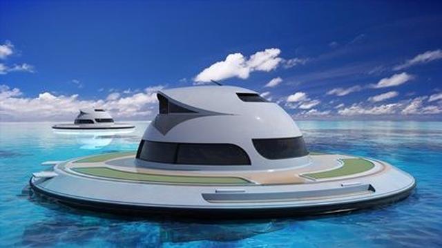 画像: 高級ヨットに続く次なるセレブの海でのステータスは「UFO」!?