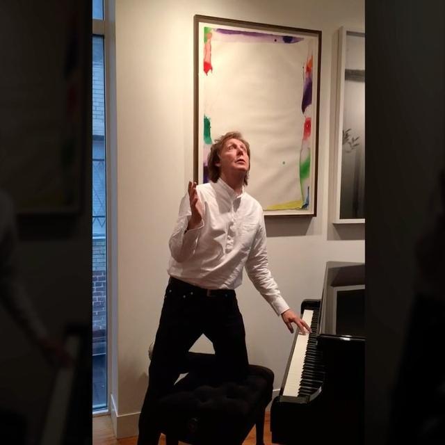 画像1: Instagram投稿の投稿者: Paul McCartneyさん 日時: 2016 11月 10 2:36午後 UTC www.instagram.com