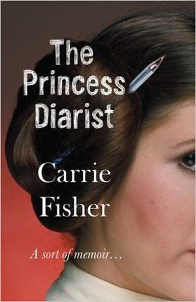 画像: キャリー・フィッシャー著『ザ・プリンセス・ダイアリスト』の表紙。