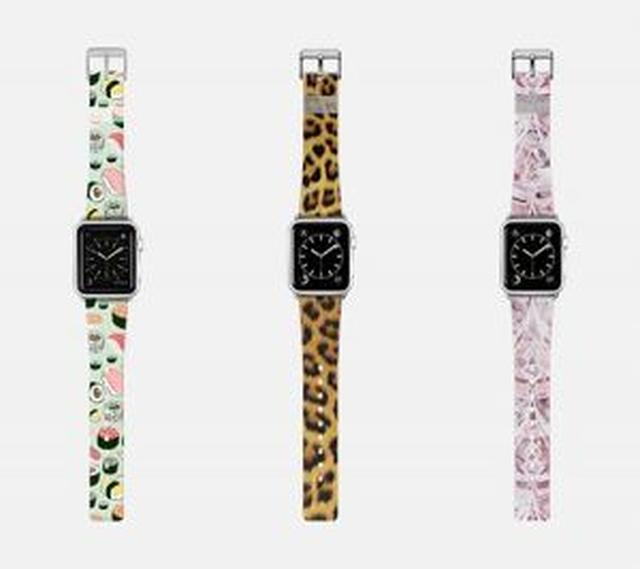 画像: Apple Watch用のバンドにもお寿司。