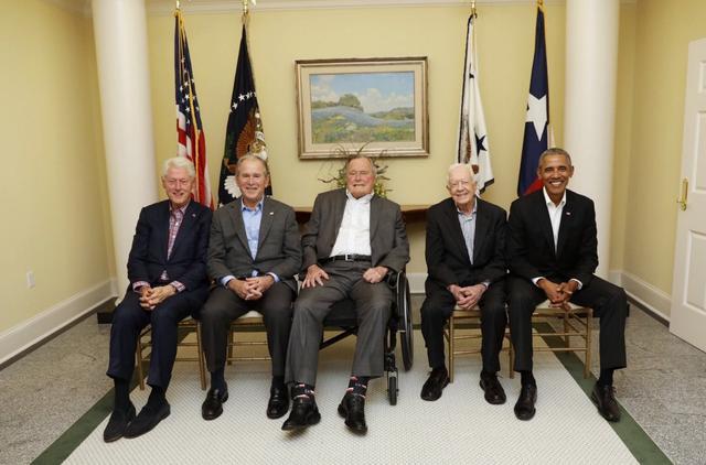 画像1: アメリカ歴代大統領が勢ぞろい