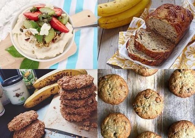 画像: アイスクリームやパウンドケーキ、クッキーやマフィンなどのバナナ置き換えレシピも。